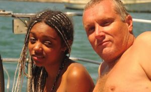 Missing trekkers: Sophie Wilde and her father Simon Wilde.