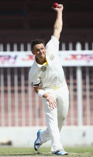 Test debut tipped: Stephen O'Keefe.