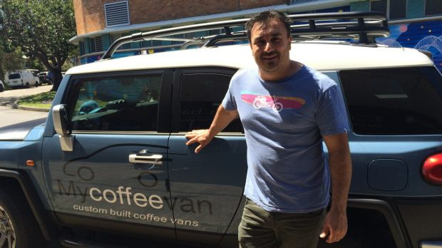 John Greco delved onto the coffee-van business way back in 1999.