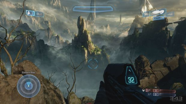 The completely remade <i>Halo 2</i> multiplayer maps, which are included in addition to their original inspirations, are ...
