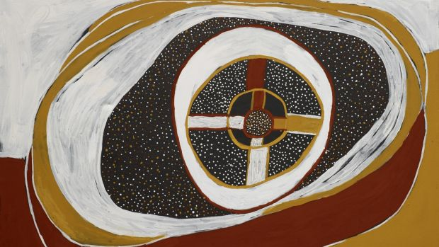 Timothy Cook Kulama 2011, natural pigments and acrylic binder on canvas 150 x 200cm