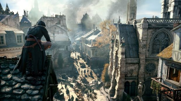 The revolution-era Paris is amazing, but the gameplay significantly less so.