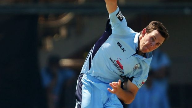 In contention: NSW paceman Josh Hazlewood.