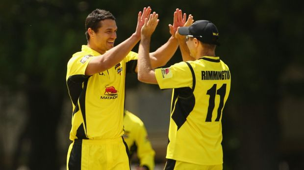 In form: West Australian fast bowler Nathan Coulter-Nile.