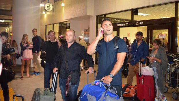 New challenge: Jarryd Hayne arrives in Los Angeles on Monday with the intention of playing in the NFL.