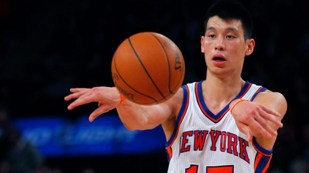 Linsanity a distant memory: Jeremy Lin during his high-profile time at New York.