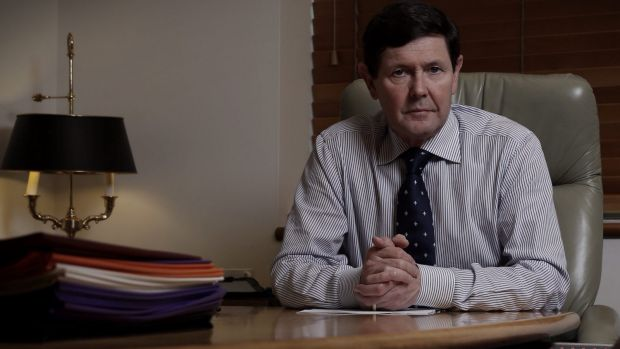 """Prime Minister Tony Abbott says Kevin Andrews will be a """"steady pair of hands"""" in the critical portfolio."""