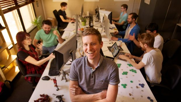 Developer magnet: Matt Clark and his Voxel Agents co-founders shifted south from Brisbane to Melbourne, a trend the ...