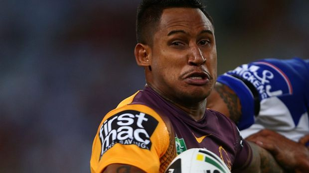 Shark target ... Ben Barba in action for Brisbane last season.