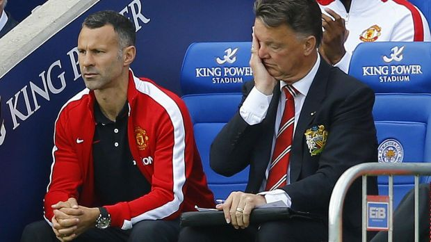Headaches: Louis van Gaal's first season at Manchester United hasn't gone to plan.