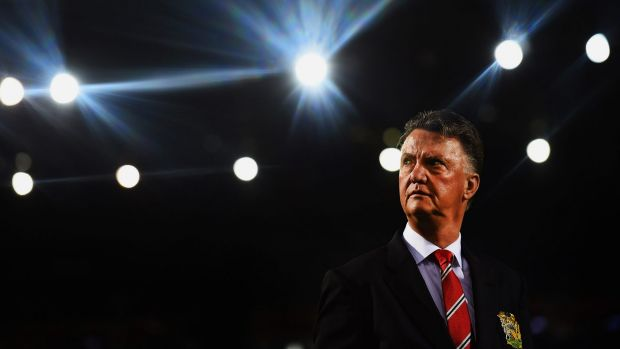 In the spotlight: Dutch coach Louis van Gaal.