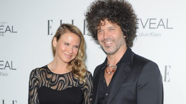 Renee Zellweger and Doyle Bramhall.