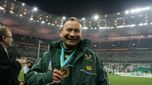 """He [Cheika] is going to have one of the hardest jobs in the world"": Eddie Jones."