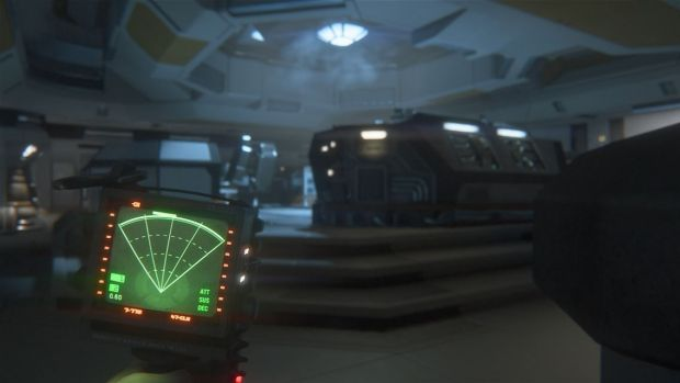 The technology in the game is a 70s vision of the future, taken directly from Ridley Scott's original film.