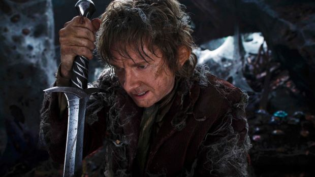 Martin Freeman stars as <i>The Hobbit's</i> Bilbo Baggins.