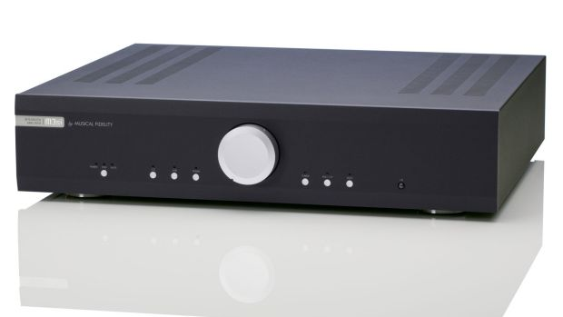 Good start: A Musical Fidelity M3si amplifier.