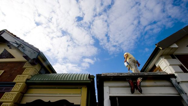 "The low-risk nature of Australian housing portfolios ""has traditionally provided ballast for Australian banks ... But ..."