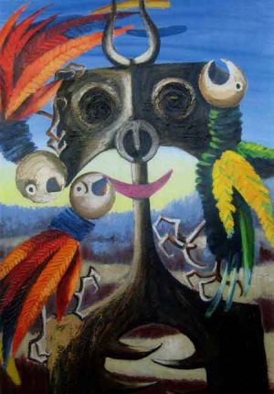 Oils ain't oils: <i>Faun and Parrot</i>, 1967, a fake attributed to Albert Tucker.