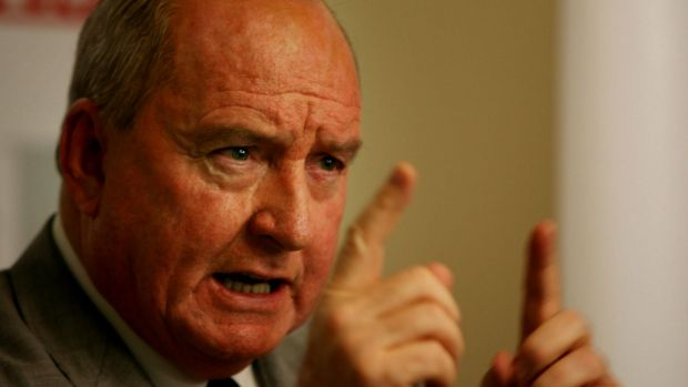 Alan Jones was discussing the Indigenous All Stars rugby league match.