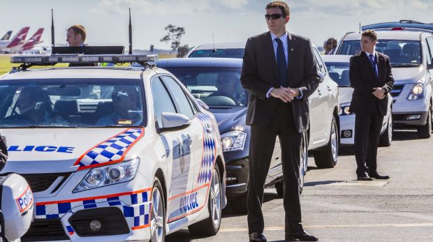 Police and security staff undertake a G20 preparation exercise. Cyberspace is also getting a security treatment.