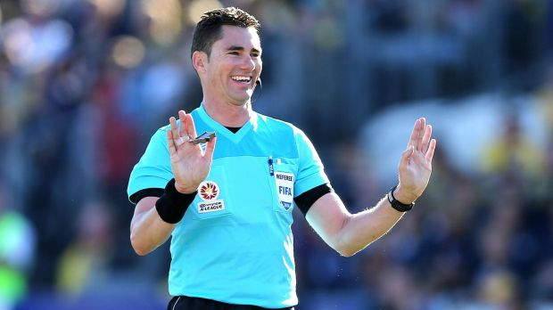 Referee Ben Wilson has been stood down after a questionable performance on Tuesday night in the FFA Cup.