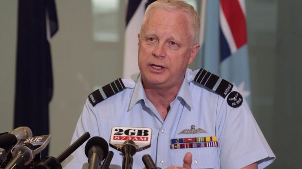 Committed to action: Mark Binskin, Chief of the Defence Force.