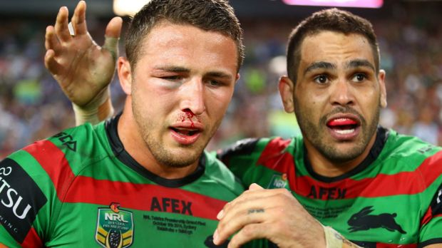 Sam Burgess also won the Clive Churchill Medal in the grand final.