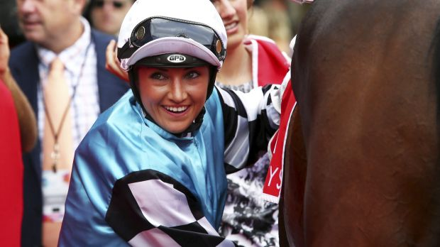 Big dreams: Tegan Harrison is eyeing a group 1 win.