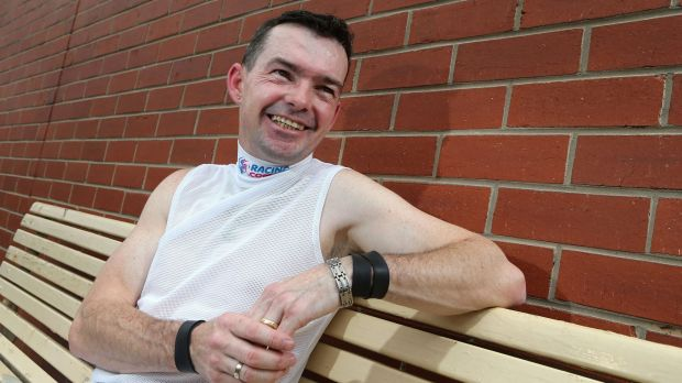Not resting on his laurels: Dean Yendall is happy to clock up the miles and mounts