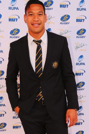 Champion: The accolades keep coming for Israel Folau.