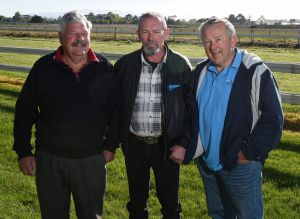 United: The Cleaner's owners Jim Lowish, Paul Burt and Bill Fawdry.
