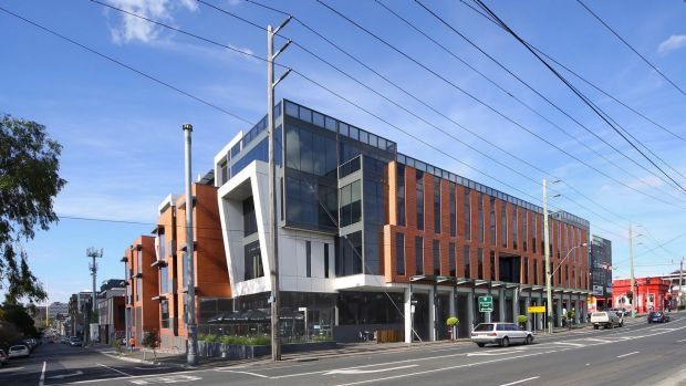 The property at 109 Burwood Road, Hawthorn, Melbourne, is one of GPT Metro Fund's holdings.