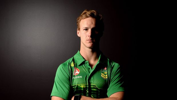 Senior rookie: Daly Cherry-Evans has a bright future with the Kangaroos.