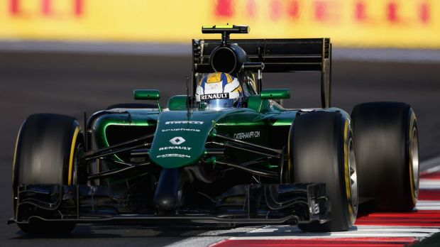In need of financial support: Caterham Formula One team.