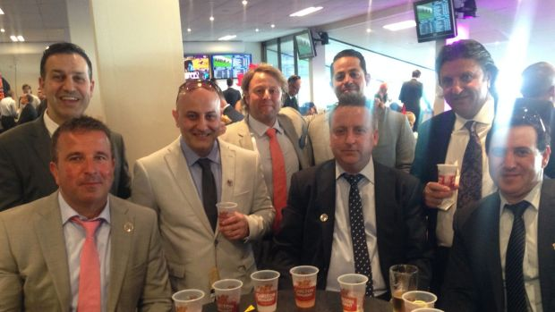 Fans at the Cox Plate