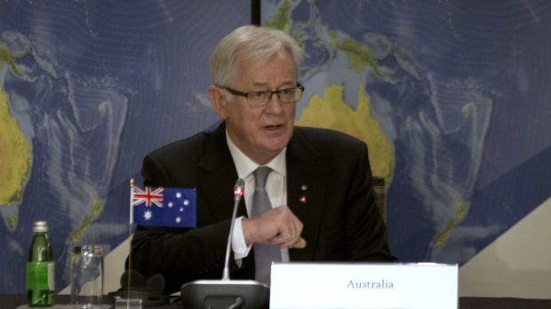 """Within Reach"": Trade Minister Andrew Robb."
