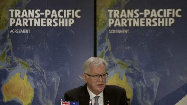 Trade Minister Andrew Robb is negotiating the Trans-Pacific Partnership.