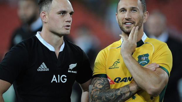 Quade Cooper was not used in the third Bledisloe Cup match against New Zealand.