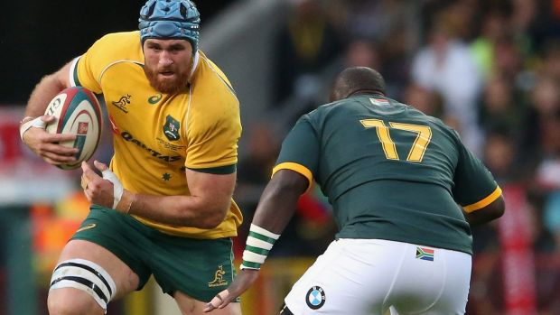Former Wallabies skipper James Horwill has started just two Test matches so far this season.