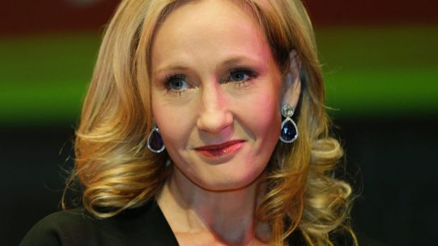 Calling out double standards: J.K. Rowling.