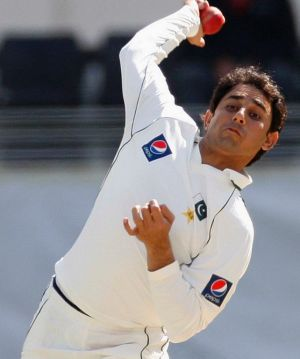 Banned: Pakistan spinner Saeed Ajmal.