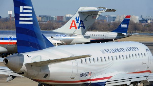 An American Airlines plane was forced to return to the gate before takeoff after apassenger noticed a spooky Wi-Fi name.