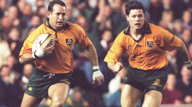 Wallabies winger David Campese was flamboyant on the field but methodical in his preparation.
