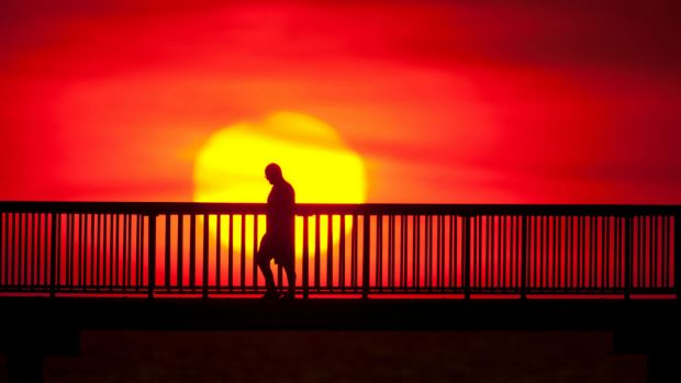 Queensland's hot spell will ease on Wednesday with a cooler change - but it'll still be a scorcher.
