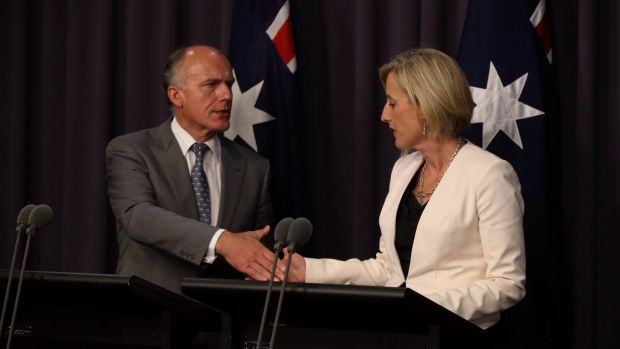 The ACT government believes the $1 billion asbestos buy-back deal, struck between Eric Abetz and Katy Gallagher in ...