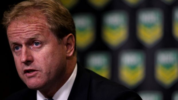 Entrenched: NRL CEO Dave Smith is in a battle between the four football codes for market share.