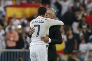 Real Madrid's Cristiano Ronaldo and Carlo Ancelotti are both shortlisted.