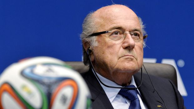 'We trust the country, its government': FIFA President Joseph 'Sepp' Blatter has given his full support to Russia on ...