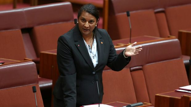 Nova Peris: standing by her statement.