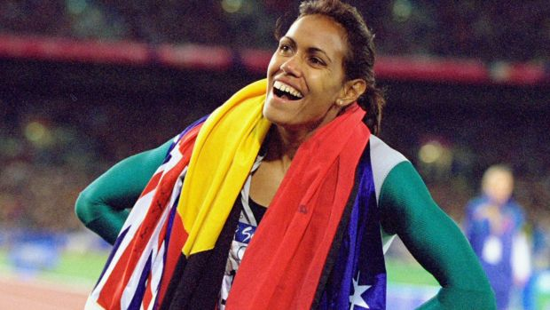 "Peris allegedly called Cathy Freeman ""dumb""."